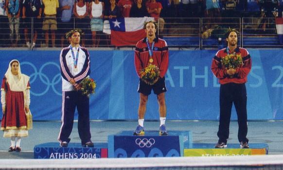 CHRON'OPEN - Jeux Olympiques Athènes 2004 Ljubicic
